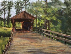 Red Oak Covered Bridge - Sylvia Rozell 03