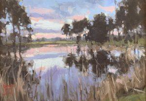 Sunset at Big Red Oak - David Boyd 10