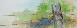 Plantation Fence Line by Charlie Warner Open081