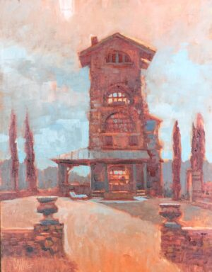 Tuscan Tower by Ed Cahill Open073